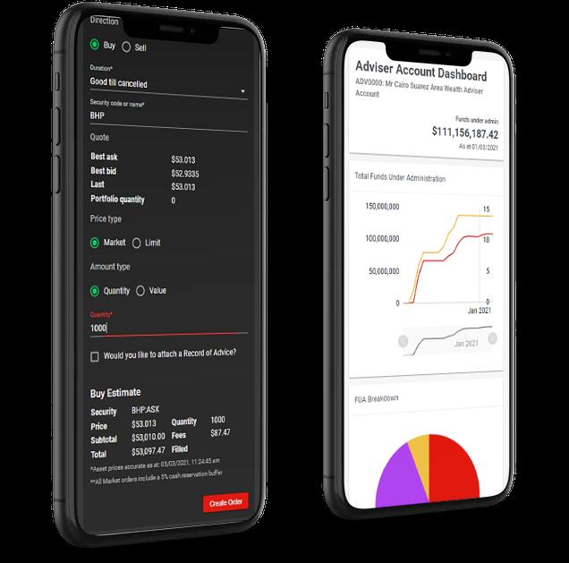 Capitalroad_orderpad_dashboard_mobile_adviser